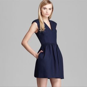 FRENCH CONNECTION Navy Blue Unno Dress Size 8